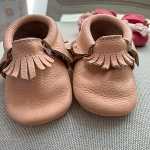 Coral - Moccasins - Size 2